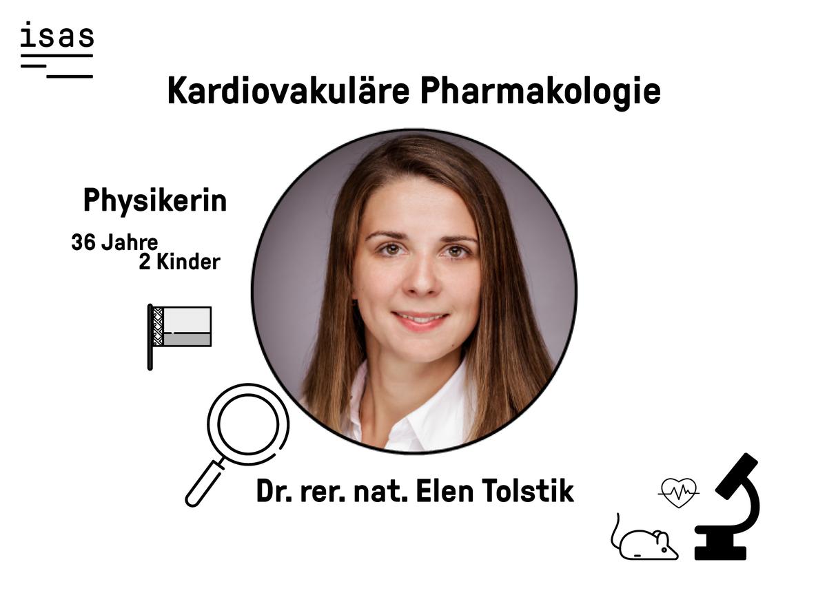 Elen Tolstik forscht als Physikerin nach Biomarkern bei Herz-Kreislauf-Erkrankungen.