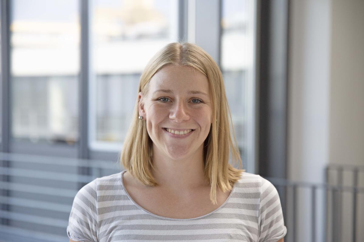 Dr. Julia Lill forschte am ISAS an der Immunantwort durch Neutrophile Granulozyten. © ISAS.